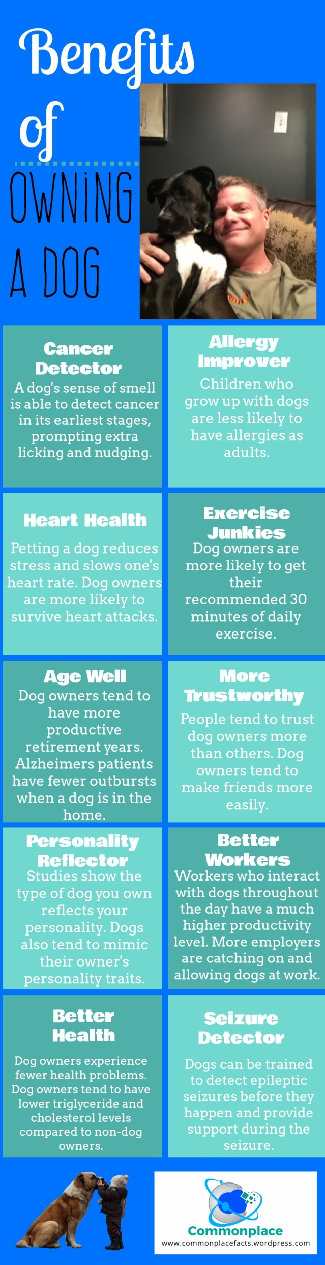 10 benefits of owning a dog