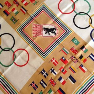1936 Berlin Olympic Scarf