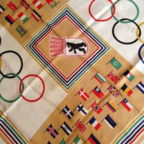 1936 Berlin Olympic Scarf