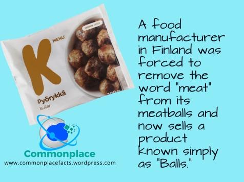 meatless meatballs Finland pyörykkä