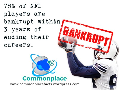 #NFL #football #finances #bankruptcy #money #funfacts
