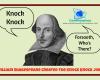 Shakespeare knock knock joke Macbeth