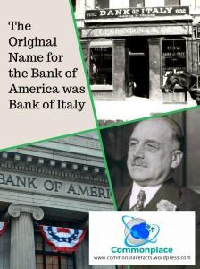 #banking #Finance #Bankofamerica #Italy #Italians #funfacts