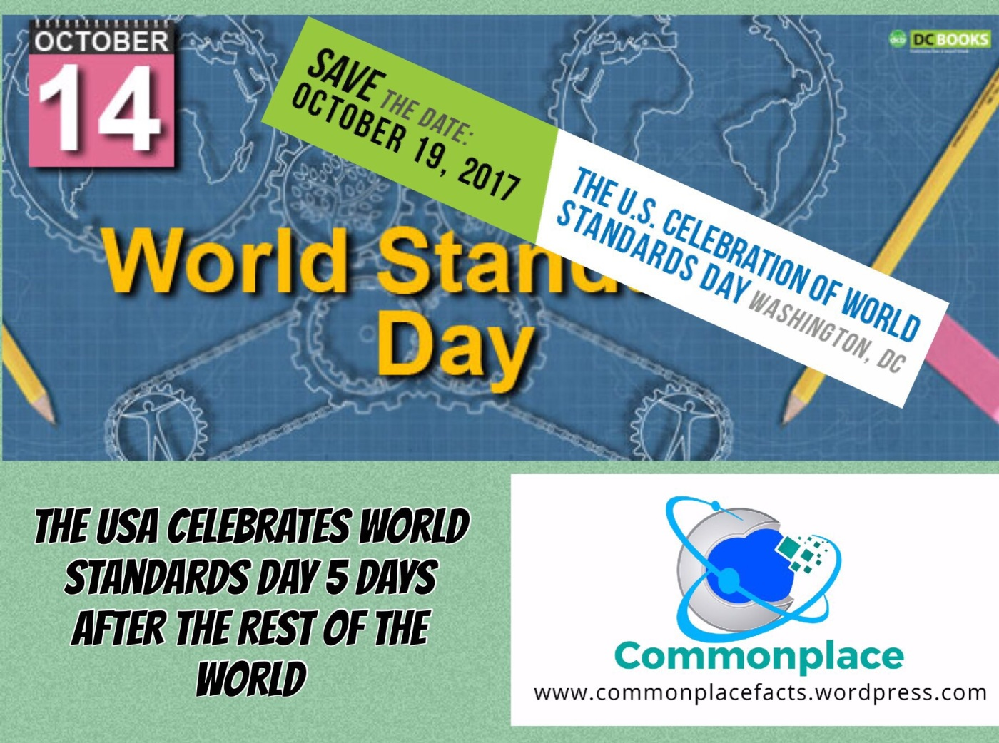 #worldstandardsday #nonconformity #funfacts