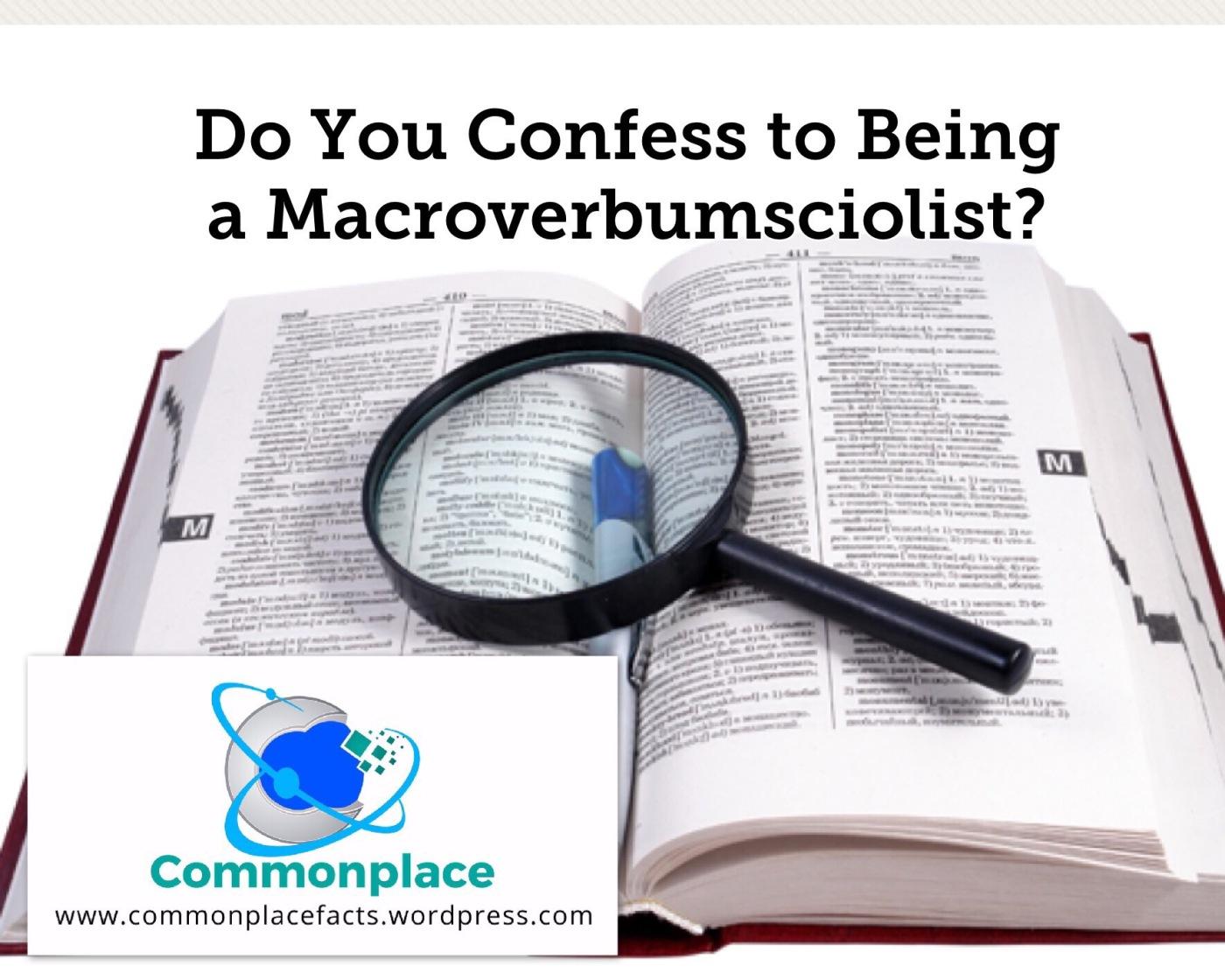 #macroverbumsciolist #words #funfacts