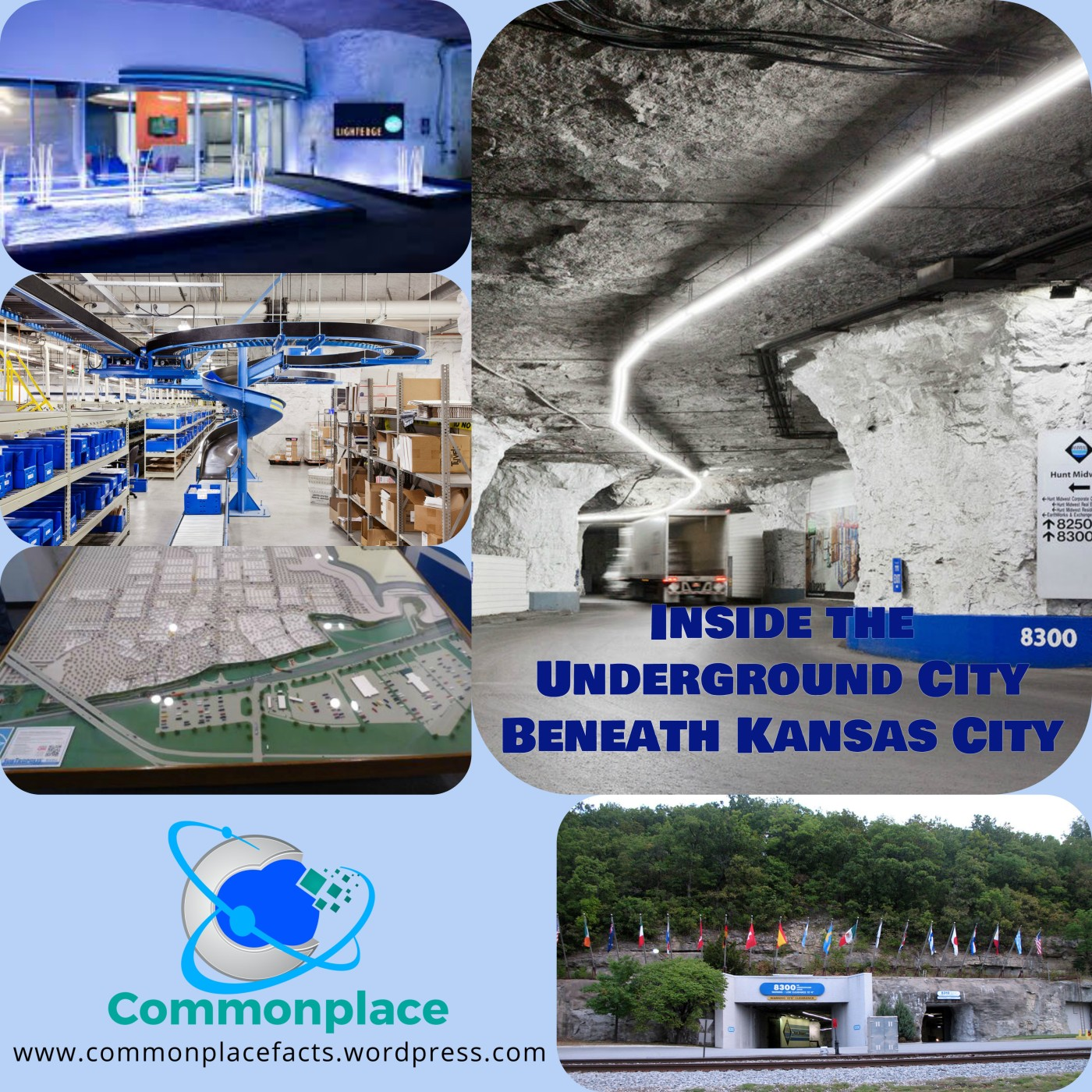 #subtropolis #underground #caves #kansascity