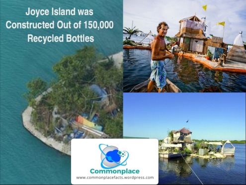 #JoyxeeIsland #spiralisland #recycling #RichardSowa #funfacts #recycledbottles