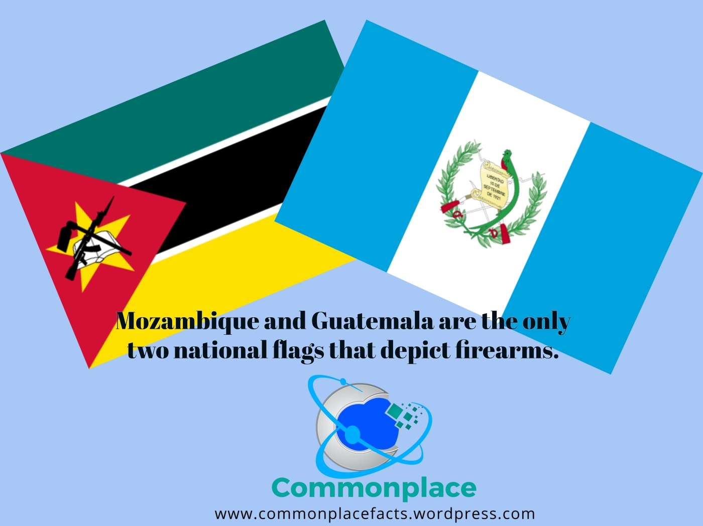 #Mozambique #Guatemala #firearms #flags #funfacts