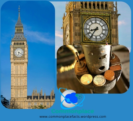 #BigBen #time #pennies #punctuality #London #Westminster #funfacts