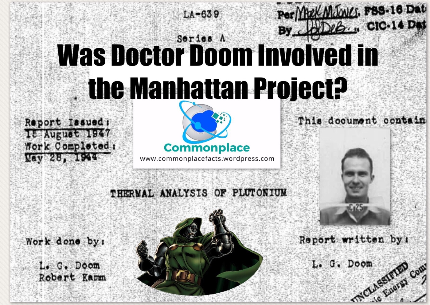 #Doom #manhattanproject #funfacts #comics #marvel