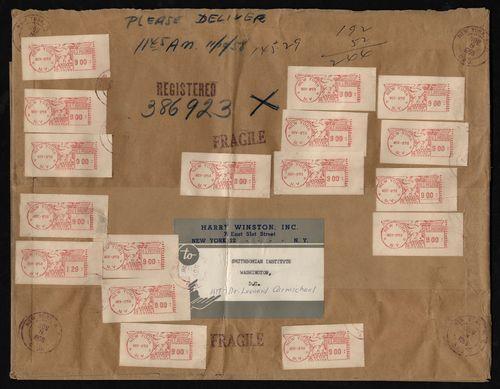 #HopeDiamond #diamonds #postage #USPS #USPostalService #postoffice #postal