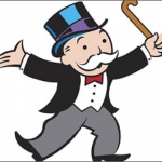 Monopoly's Rich Uncle Pennybags' real name is Milburn Pennybags