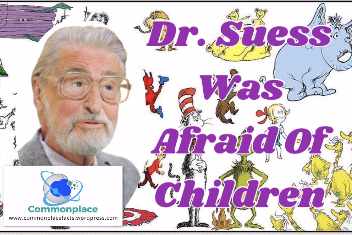 #DrSuess, #suess, #children, #authors, #books, #phobias
