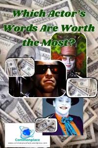 Arnold Schwarzenegger, Johnny Depp, Jack Nicholson, movies, actors, salaries