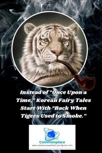 #Korea #tigers #smoking #vaping #fairytales #korean