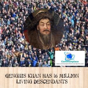 #GenghisKhan #genetics #Mongolia #DNA