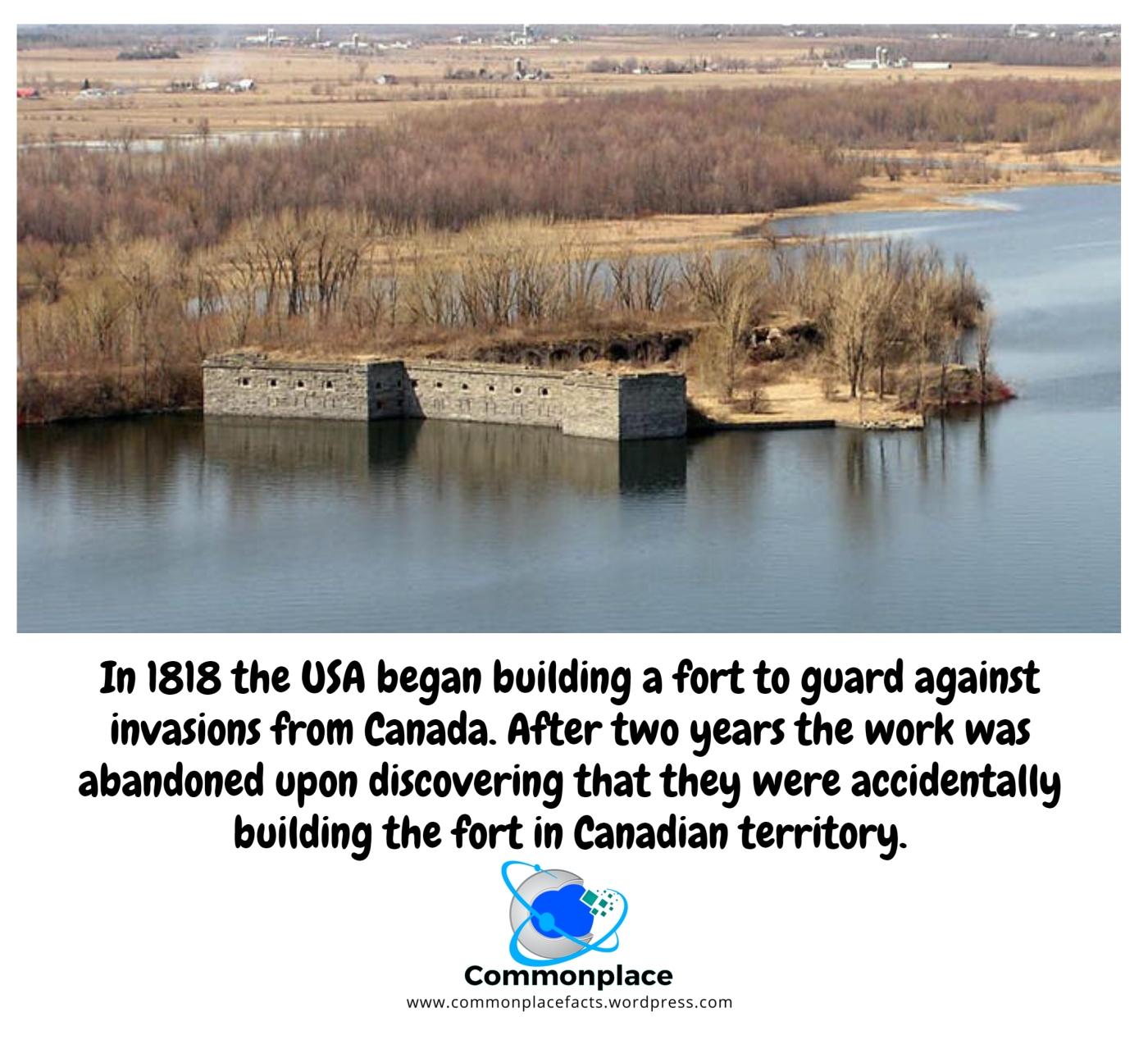 #FortBlunder #Canada #Warof1812 #FortMontgomery #Oops