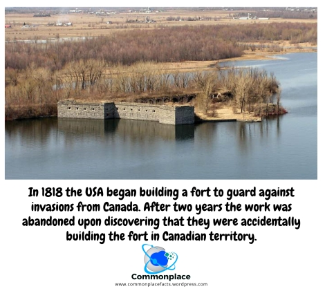 #FortBlunder #Canada #Warof1812 #FortMontgomery #Oops