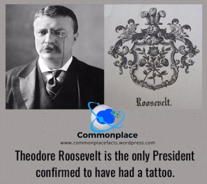 #TheodoreRoosevelt #POTUS #tattoo #ink #tats #Presidents