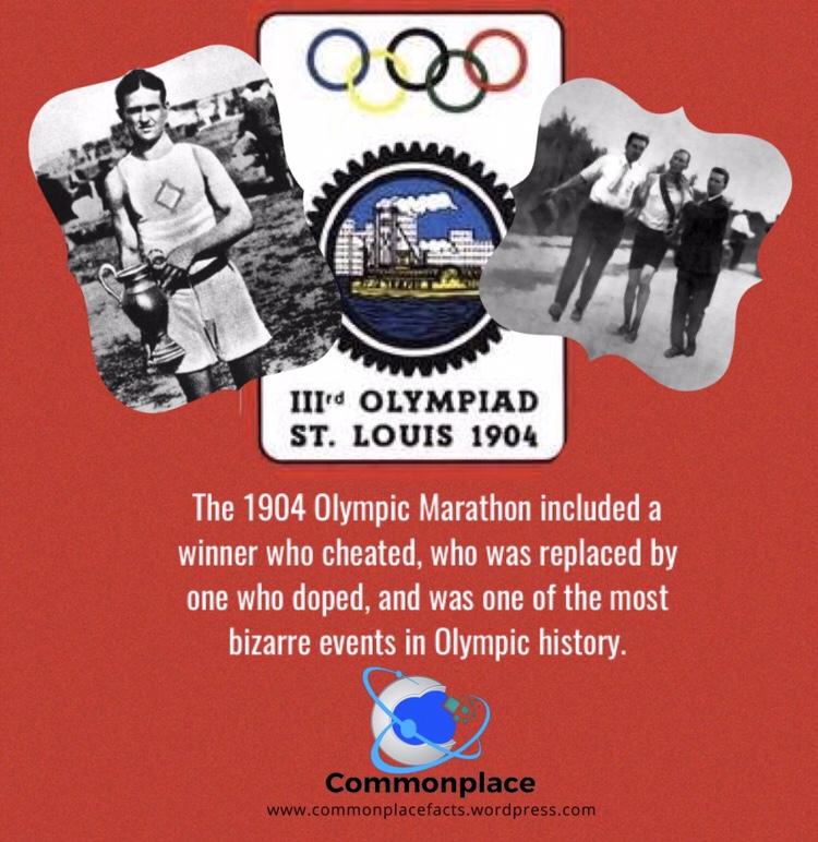 #Olympics #1904Olympics #marathon #running #cheatersneverwin #cheater