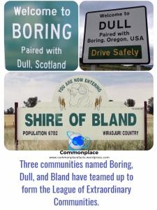 #Boring #Dull #Bland #Australia #Scotland #Oregon #communities