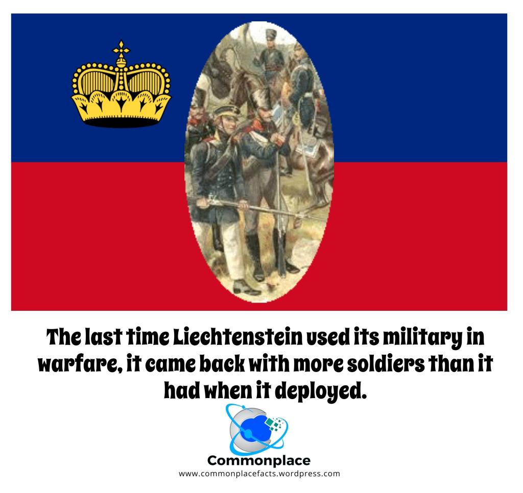 #Liechtenstein #military #warfare #soldiers #FunFacts