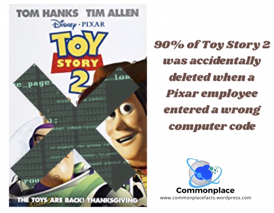 #Pixar #ToyStory2 #computercode #mistakes
