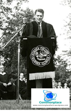 #RonaldReagan #EurekaCollege #POTUS #studies #potential