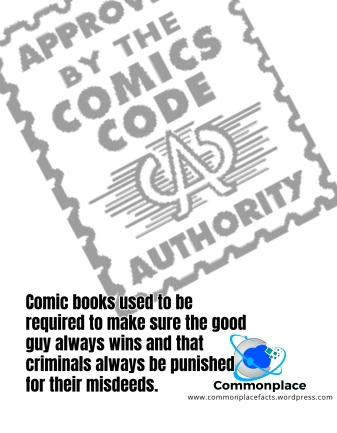 #ComicBooks #CCA #ComicsCodeAuthority #rules