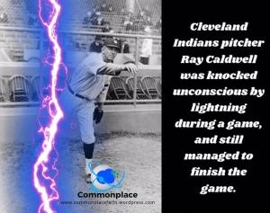 #ClevelandIndians #RayCaldwell #baseball #MLB #lightning