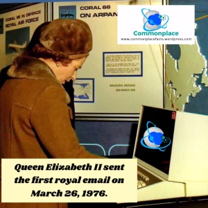 #QueenElizabeth #royal #email #technology