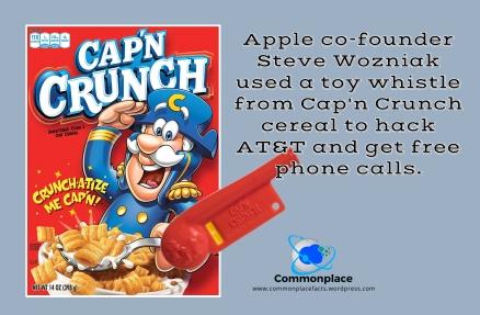 #Apple #SteveWozniak #hacking #Cap'nCrunch #hackers