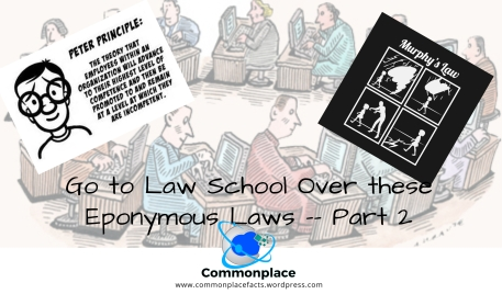 #EponymousLaws #laws #murphy'slaw #peterprinciple #funnylaws
