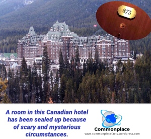 Check Out the Room Where You Can't Check In – Commonplace Fun Facts