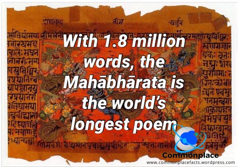 #Mahābhārata #Mahabbarata #poetry #poems #records #words