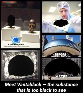 #Vantablack #colors #technology #blackest