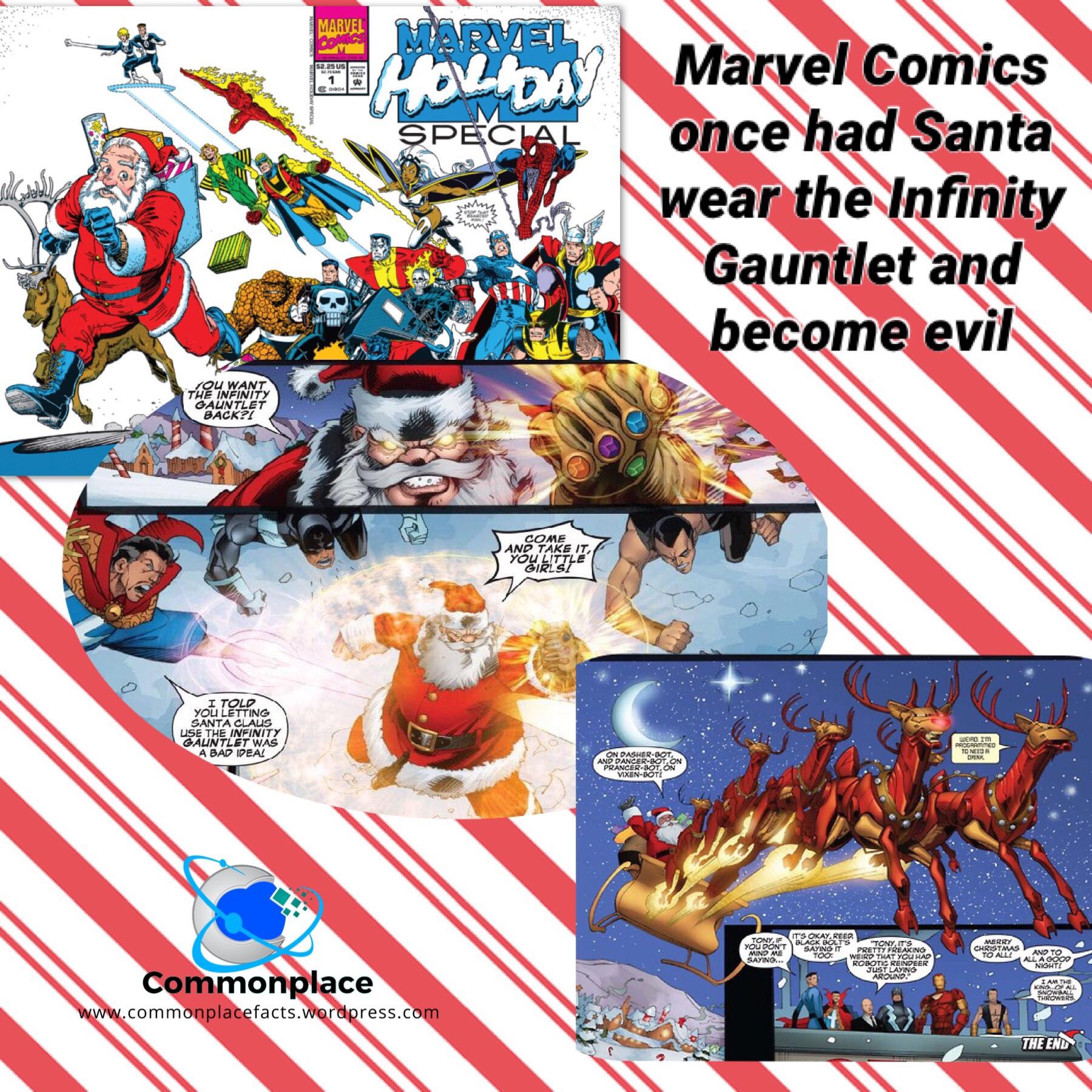 #Santa #Christmas #InfinityWars #Marvel