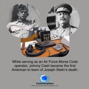 #JohnnyCash #Stalin #FunFacts