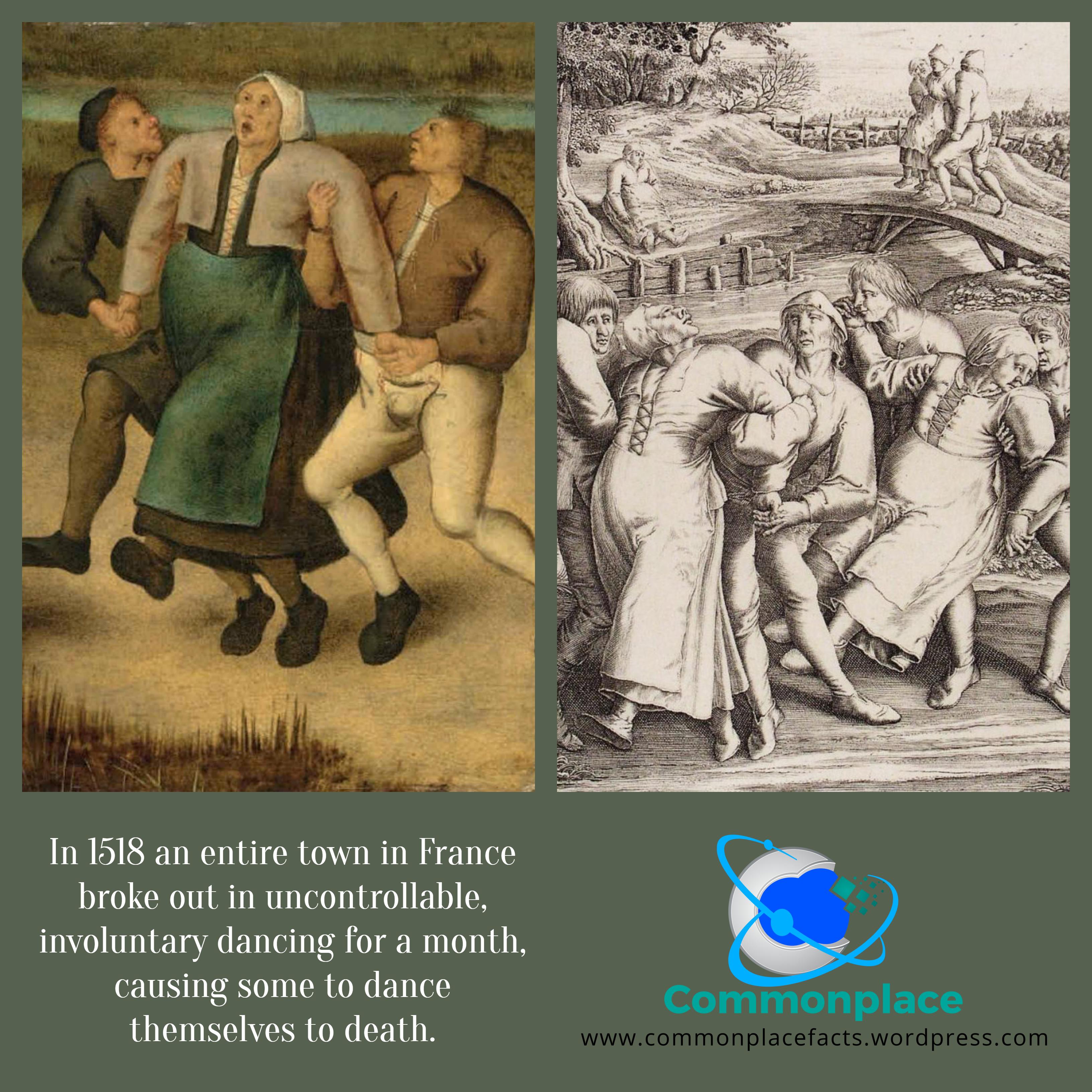 #Dancing #DancingPlague #Hysteria #MassHysteria