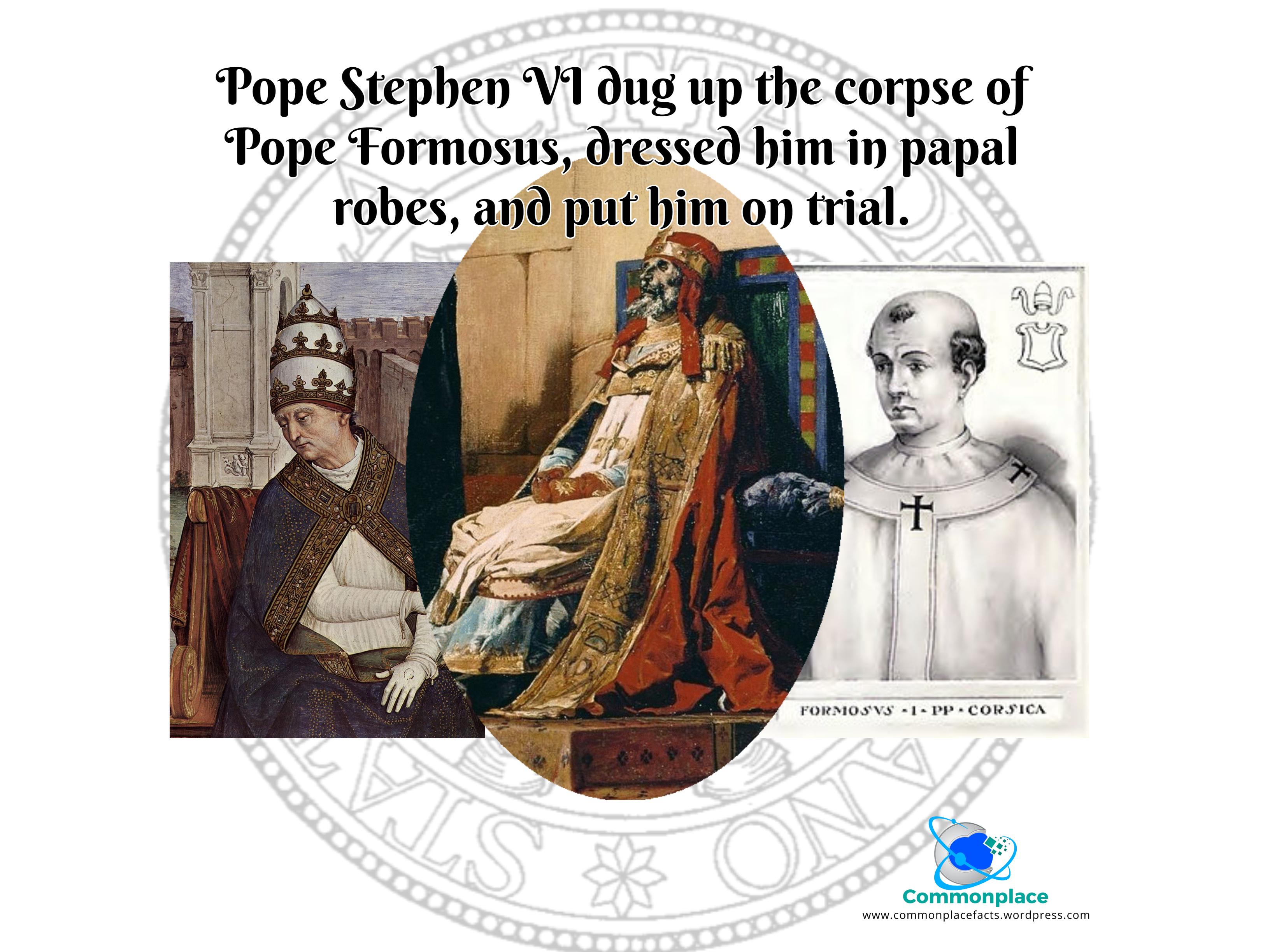 #CadaverSyndod #Vatican #Popes #Papacy