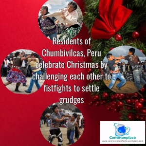Christmas Peru fistfight grudge match