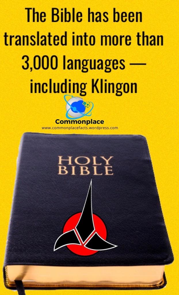 #StarTrek #Klingon #Bible #languages