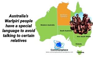 Warlpiri Australia languages avoidance
