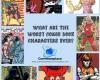 Dogwelder, arm-fall-off-boy, black condor, DC Comics, Marvel Comics, Blue Snowman, Snowflame, Stone Boy, Ebony White