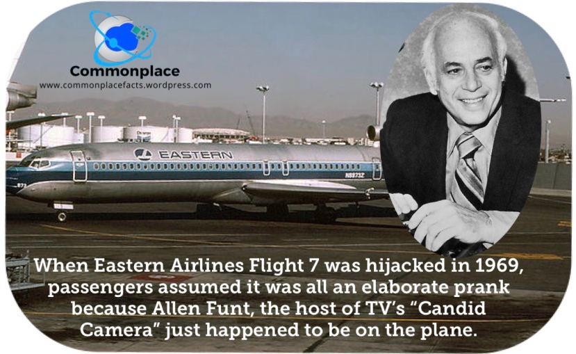 Allen Funt, Candid Camera, Cuba, hijacking, stunts, hoaxes