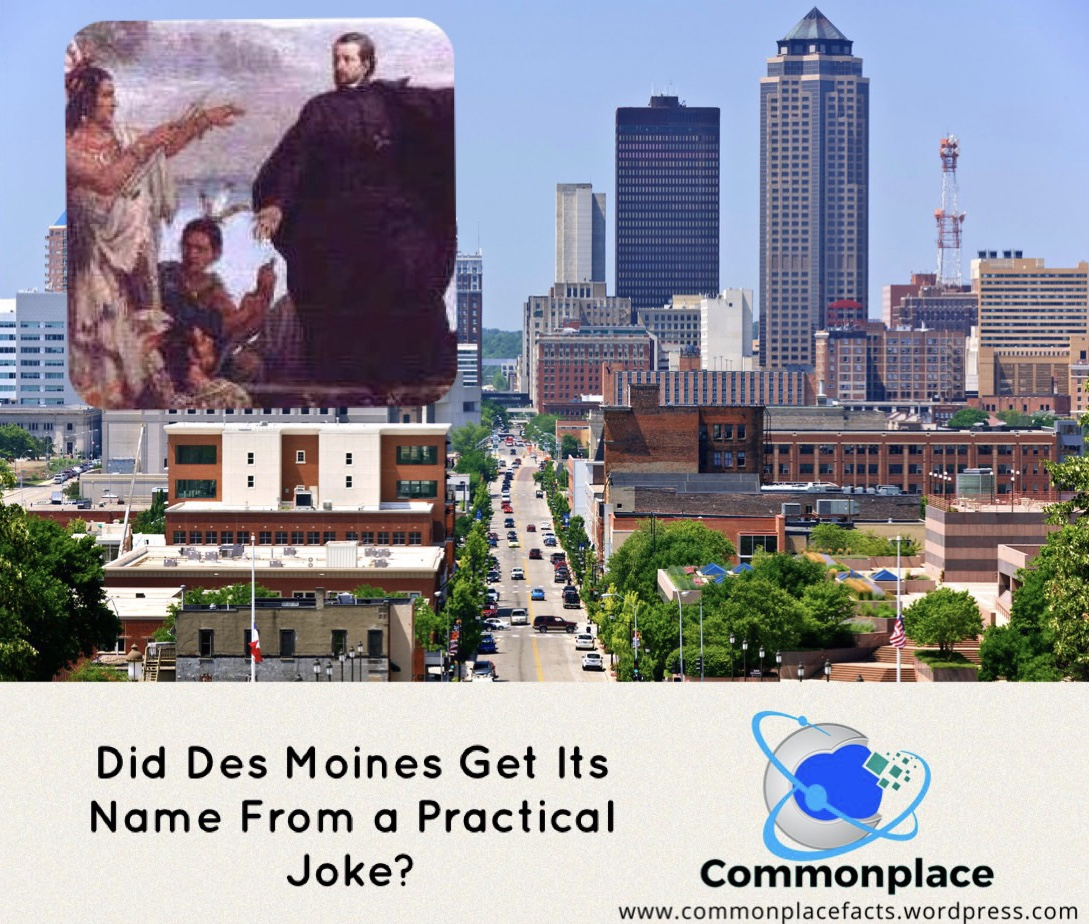 Des Moines, Iowa, Names, Meaning, linguistics,