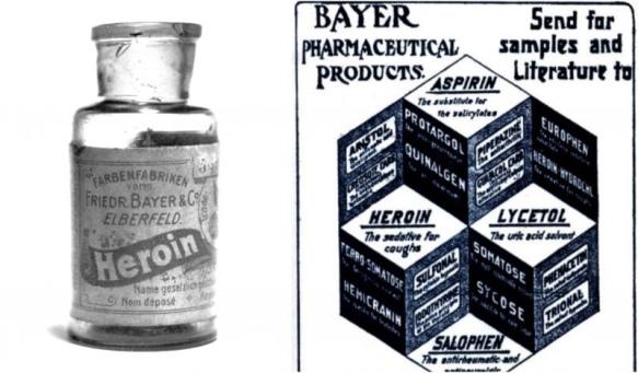 Aspirin Heroin Bayer trademark