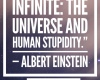 #Einstein #quotes #funnyquotes #stupidity #genius #infinite
