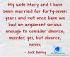#quotes #JackBenny #divorce #murder