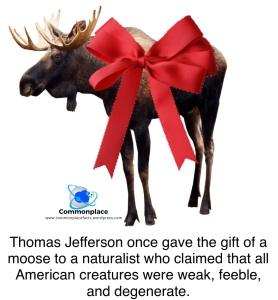 #ThomasJefferson #Jefferson #naturalists #moose #Buffon